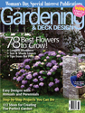 See Inside Out's Wrought Iron Garden Gate in Woman's Day Special Interest Publication Gardening & Deck Design.