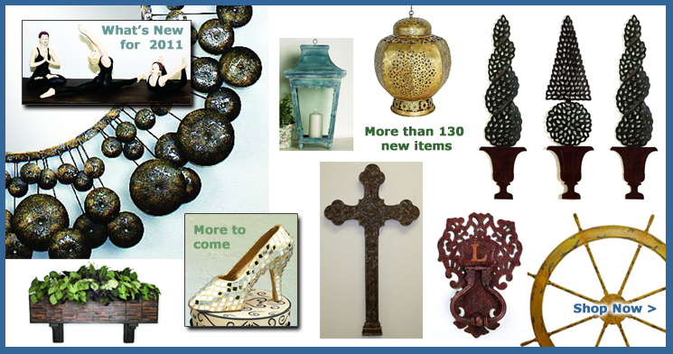 Come see What's New in Home Decor for 2011 at INSIDE OUT. More than 130 new home decor items with much more to come! ... Shop Now >