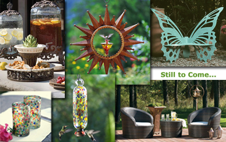 More home and garden decor coming soon...