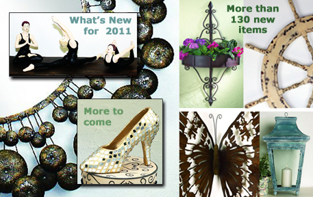 Click here to shop What's New in Home Decor 2011